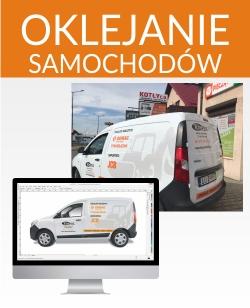 oklejanie samochodów | reklamy Lublin, Aleja Spółdzielczości Pracy 109